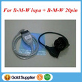 For INPA K+DCAN D-CAN CAN INPA Ediabas USB Interface+ 20pin to 16pin Adapter for B*M*W