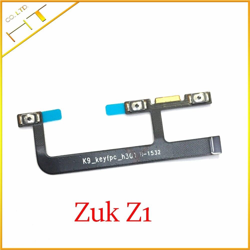 1pcs New & Original Power Volume Button Flex Cable For Lenovo ZUK Z1 Mobile Phone Parts Replacement