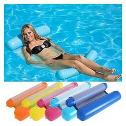 ЮЮ Новое надувное кресло для отдыха бассейн плавательный пояс для плавания бассейна плавать кольцо гамак 8 цветов надувной матрас кровать