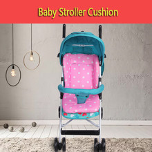 BBSONG Baby Stroller Seat Pushchair Cushion Dot Pram Accessories Toddler Mat Cotton Pad Soft Mattresses Carriages
