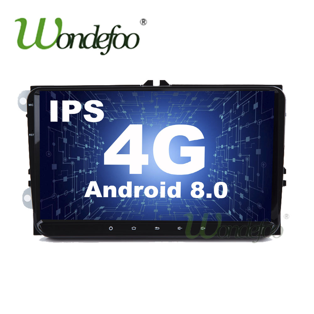 Volkswagen Polo 2 0 Tsi Gti 5dr Dsg Hatchback: IPS Android 8.0 4G /2G Android 7.1 2din CAR GPS For VW