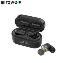 [Двойной Динамический драйвер] Blitzwolf BW-FYE7 TWS Bluetooth 5,0 наушники-вкладыши бас стерео двусторонние звонки наушники с зарядным устройством