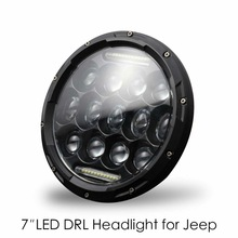 Safego 300W 7Inch H4 H13 LED Headlight High Low Beam DRL Halo Ring Angel Eyes Daytime Running Light for Jeep Offroad Motorcycle dot sae e9 approved 7inch round headlight with halo ring for honda cb500 cb1300 hornet250