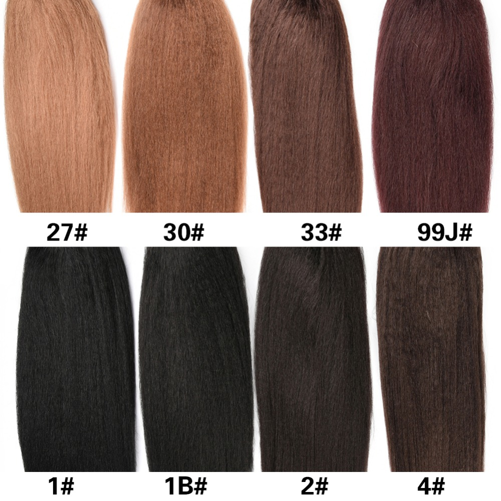 Lydia Straight Hair Ponytail-Extension Drawstring Plastic Heat-Resistant Synthetic