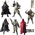 6 estilos Samurai Ronin Taisho Darth Vader de Star Wars Boba Fett Stormtrooper Ashigaru taikoyaku Akazonae Guardia Real figura de acción