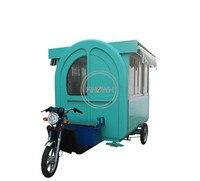Уличный стиль электрическая тележка трехколесного велосипеда пищевой грузовик/мини машина пищевой тележки с 3 колесами