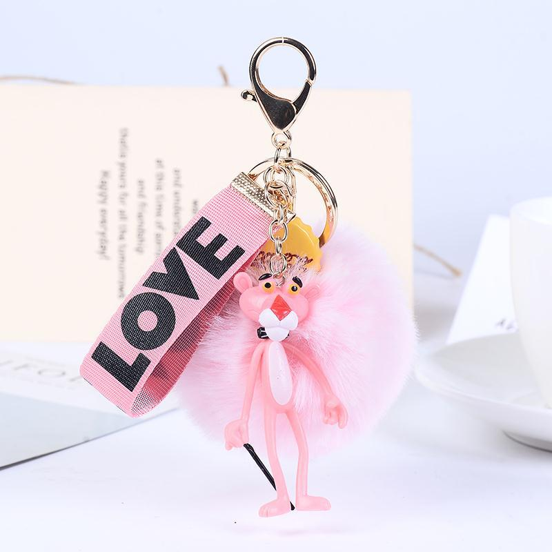 best top bag charm pink pom pom ideas and get free shipping - nnl60mfb