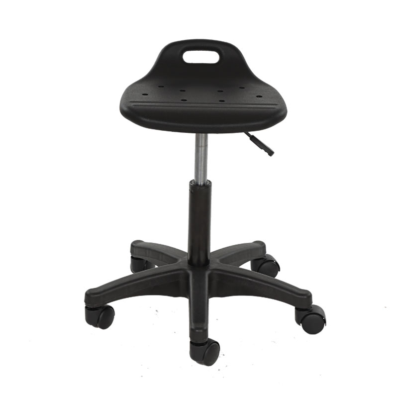 Modern Simpe Style Lifted Bar Chair Breathable Factory Staff Chair Anti-static Barber Stool Rotated Stable Laboratory Seat