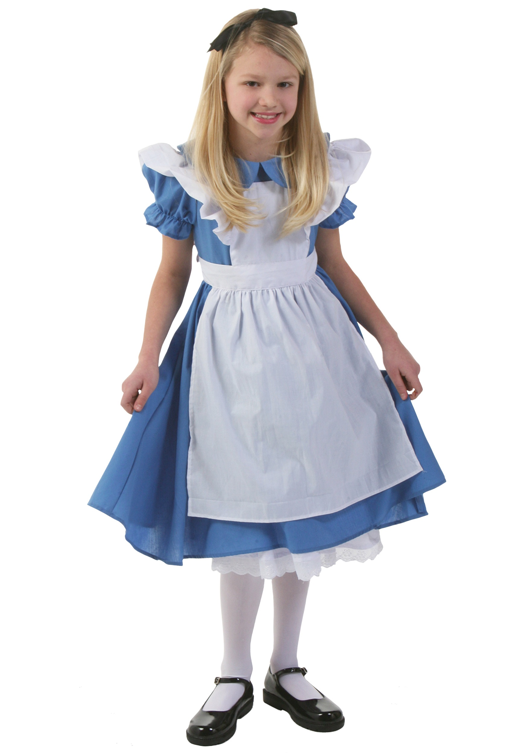 Girl Princess Party Costume Girls Fancy Blue Cinderella Princess