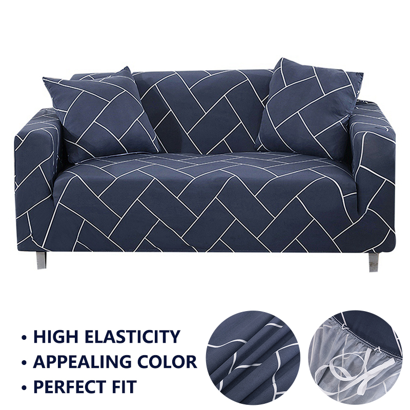 Forcheer Sofa Cover For Living Room Geometric Colorful