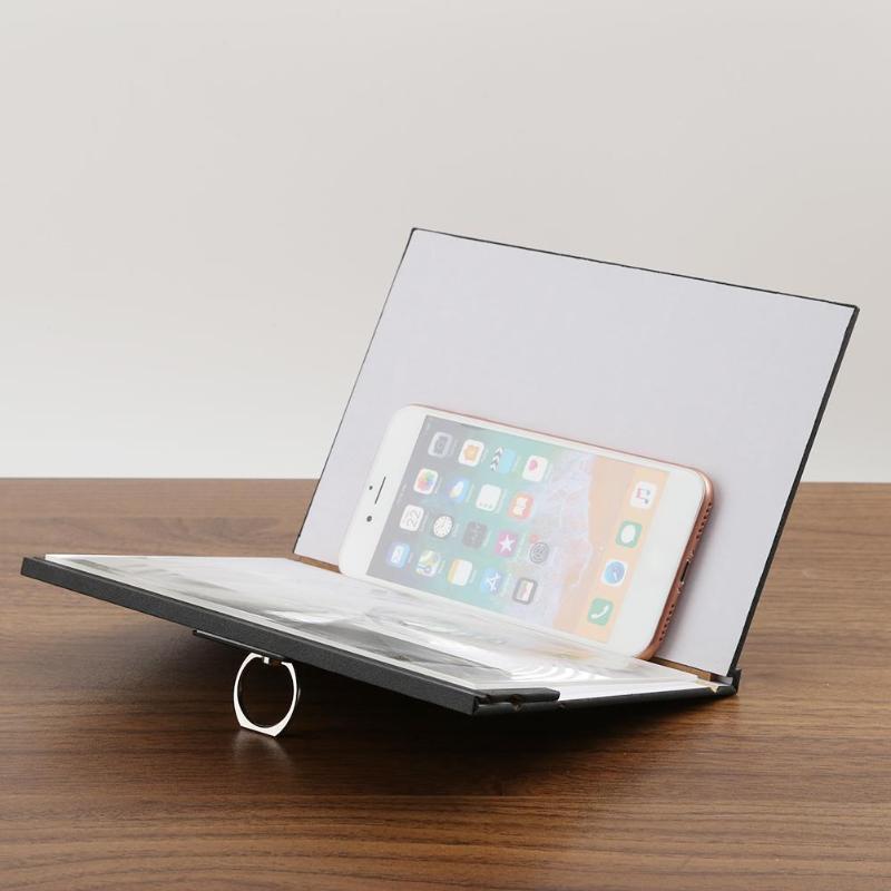 Мобильный телефон Экран Лупа защита глаз Дисплей 3D видео Экран усилитель увеличенные <font><b>Expander</b></font> стенд держатель кронштейн продвижение