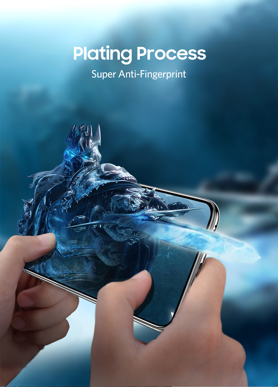 Benks 0.3mm Full Cover Tempered Glass For iPhone XS 5.8'' XS MAX 6.5'' XR 6.1 HD Screen Protector Anti Blu Ray Glass Front Film (10)