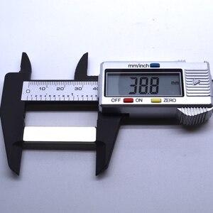 Image 2 - 1/5/10/20/50Pcs 40x10x4 Neodymium מגנט 40mm x 10mm x 4mm N35 סיבוב NdFeB סופר עוצמה חזק מגנטי קבוע imanes