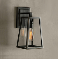 American vintage iron loft wall lamp outdoor with edsion lamp e27 Wall Lamp