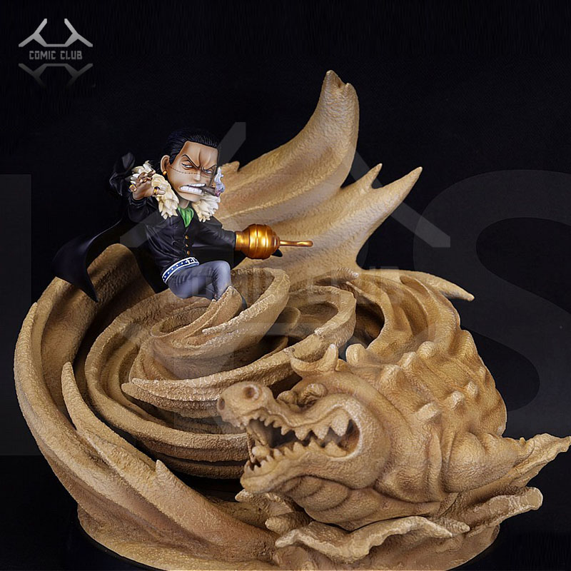Comic Club In Stock One Piece Lbs Sd Sir Crocodile Gk Resin Statue Figure Toy For Collection Action Toy Figures Aliexpress