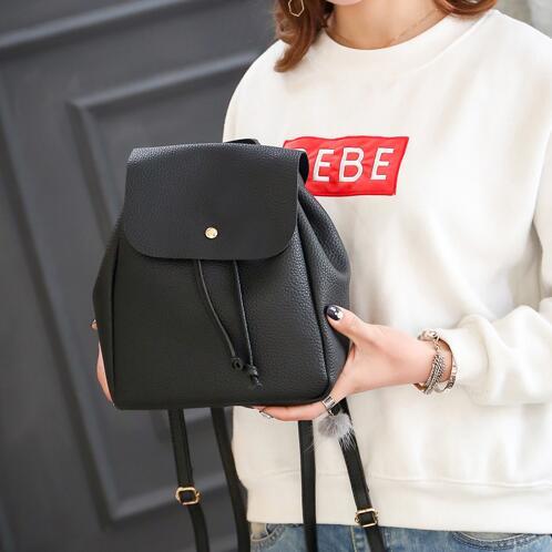 Fashion Women Backpack2017 PU Leather Women Mini Backpack Designers Brand for Teenage Girl High Quality Travel Books Rucksack