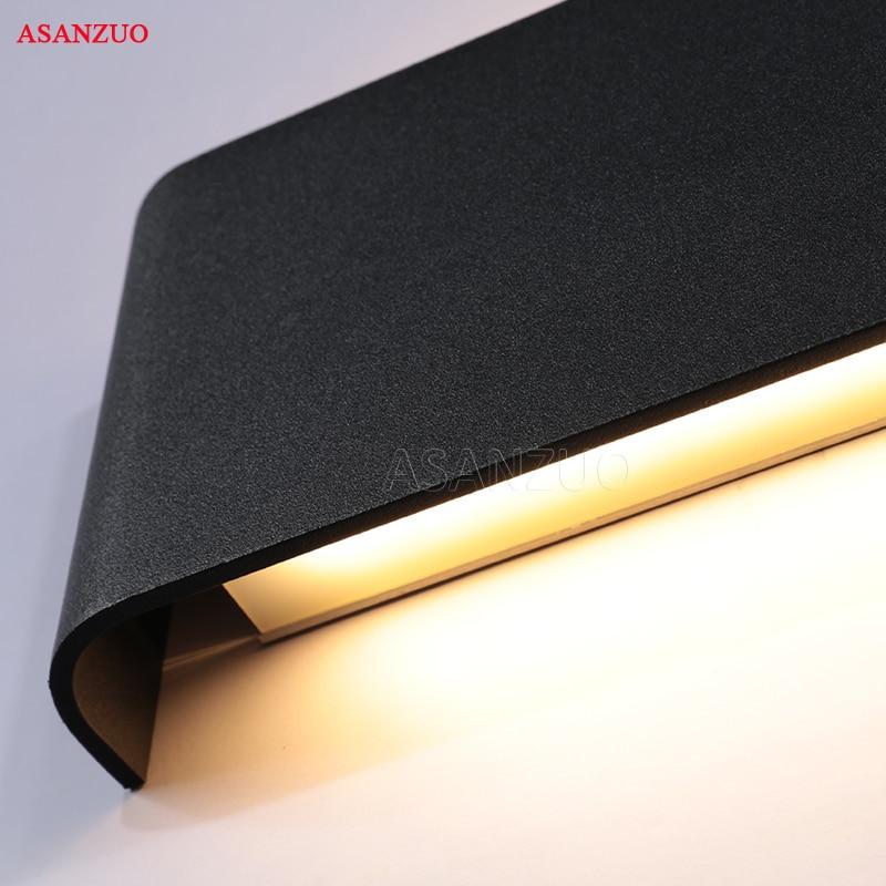 Rectangle Led Wall Lamp Bedside Sconces 4W8W14W18W Light lamp 110V 220V Living Room Bathroom Mirror Light Indoor Aisle 5