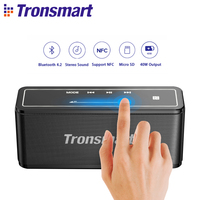 Original Tronsmart Element Mega Bluetooth Speaker Outdoor Portable Wireless Speakers MicroSD Card 3D Digital Sound 40W Output