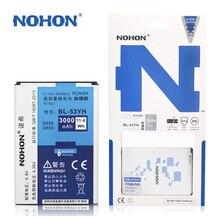 NOHON Battery High Capacity 3000mAh bl-53yh For LG G3 D858 D855 D830 D851 VS985 D850 F400L Replacement Batteries