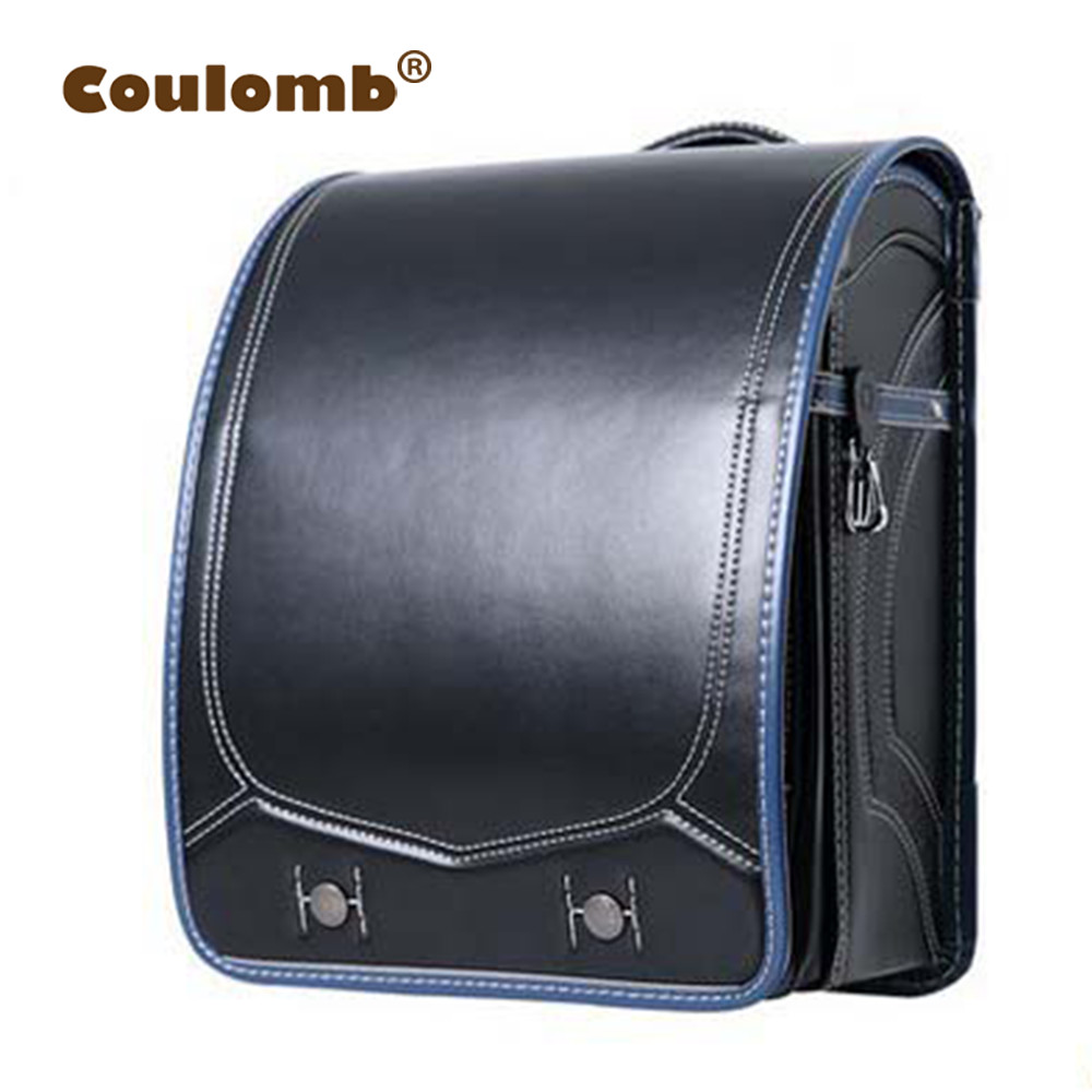 Coulomb Hard Case Children Backpack For Boys School Bag Kids Satchel Waterproof Orthopedic Randoseru Backpacks 2017 Hot Sale ...