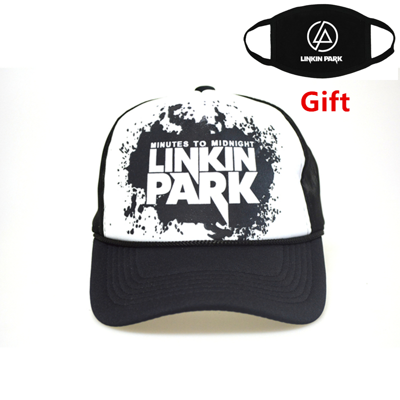 Linkin Park   baseball     cap   hip hop Rapper Bboy DJ Popping Breaking Jazz Locking Weacking dancer letter men women   cap   sun hat