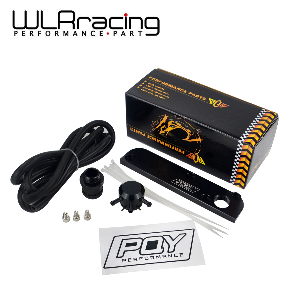 WLR RACING-Billet PCV Supprimer Plaque Kit Refonte Adaptateur pour Volkswagen (VW) /Audi/SEAT/Skoda EA113 Moteurs avec PQY logo TSB01