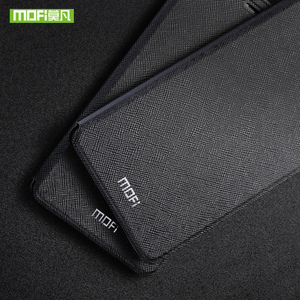 Image 3 - For Huawei P Smart 2019 Case For Huawei P Smart Plus Case Cover Silicone Flip Leather Original Mofi PSmart P Smart+ shockproof