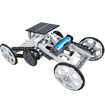 DIY Educational Toy Solar Energy Hybrid Car