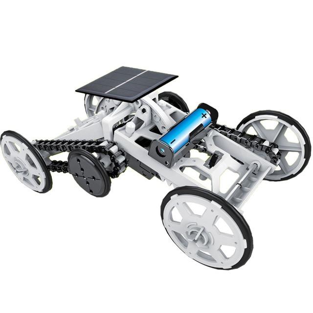 DIY Educational Toy Solar Energy Hybrid Car