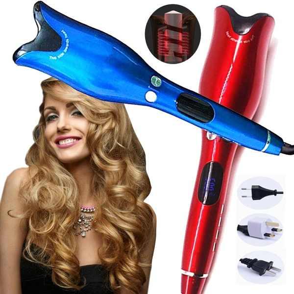Salon Curling Iron Air Curler Air Spin & N Curl เซรามิค 1 นิ้วหมุน Curler Curlers ผมเครื่องมือจัดแต่งทรงผม