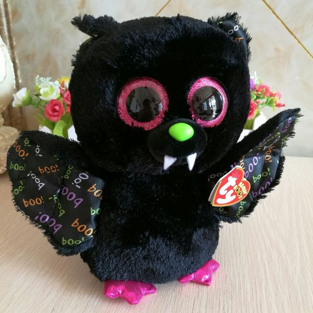 dart bat with tag label ty beanie boos 1PC 25CM Plush Toys Stuffed animals  nano dolls e7ae85483a7