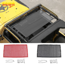 BAWA Car Covers for Jeep Wrangler TJ 1997-2006 PVC Trunk SunShade Roof Protection Net Accessories tj 4 Door