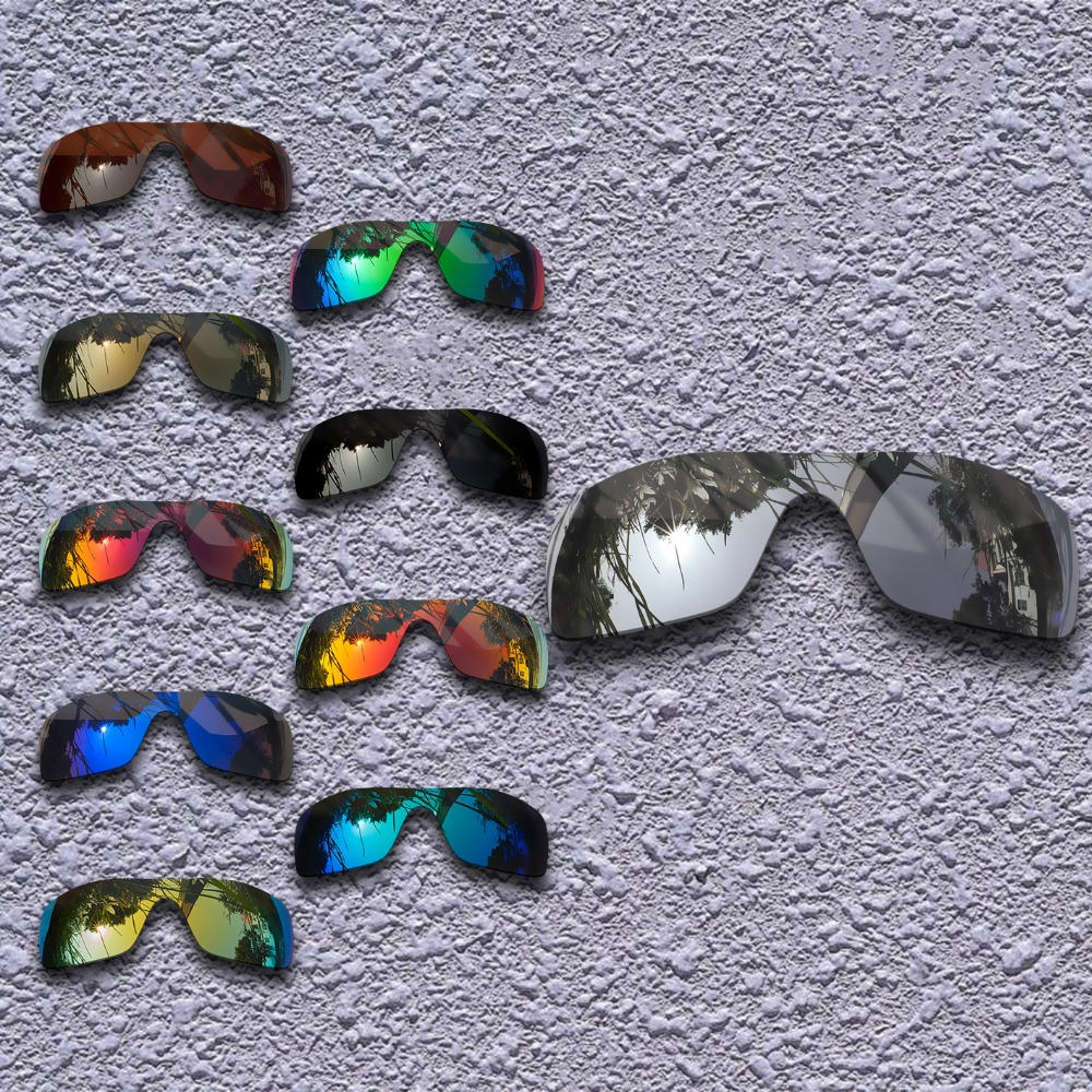 Polarized Replacement Lenses For Oakley Batwolf Sunglasses - Multiple Choices
