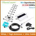 TianLuan GSM 900MHz Cep Telefonu 2G Sinyal Güçlendirici GSM Sinyal Tekrarlayıcı cep telefonu Amplifikatör + Omni/Yagi Anten 10m Kablo ile