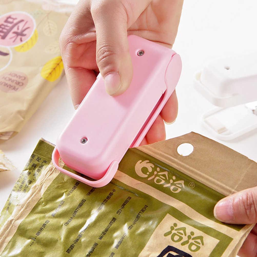 MENGXIANG 1 Pcs Portátil Mini Aferidor do Vácuo de Alimentos Máquina de Saco de Selagem Máquina Impulse Sealer Seal Sacos de Plástico de Vedação Ferramentas
