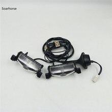 Soarhorse 1 компл.. Задний бампер номерной знак огни лампы для Mazda 3 2003-BS1E-51-270 2008