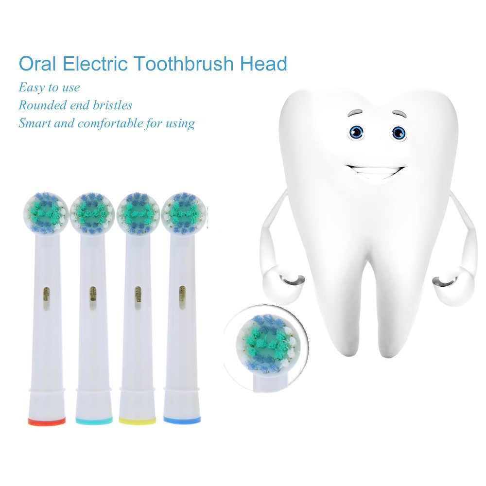 Abody 4 sztuk/8 sztuk/12 sztuk wymiana głowica szczoteczki do zębów końcówki do elektrycznych szczoteczek do zębów dla Oral B Vitality EB17-4 witalność narzędzie do czyszczenia