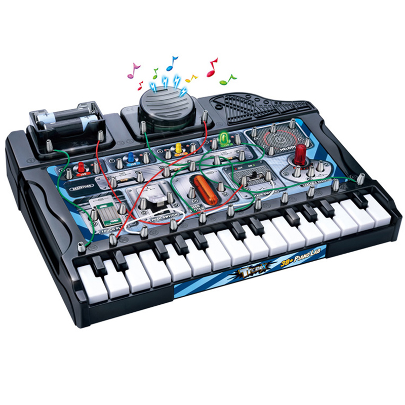 Electronic organ Toy Science Education Toy, Creative Physics Experiment Technology Learning Toys for Children BLDZQ