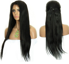 Brazilian Virgin Hair straight Full Lace Human Hair Wigs For Black Women Lace Front Wigs Glueless Full Lace Wig