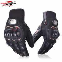 Guantes de Moto para motociclista de carreras protectoras para hombre y mujer Guantes Moto Guanti Luvas Motocicleta Gants