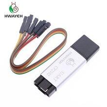 Coque en aluminium CP2102 USB 2.0 à TTL UART Module 6Pin convertisseur série STC remplacer FT232 support de Module 5v/3.3v pour arduino