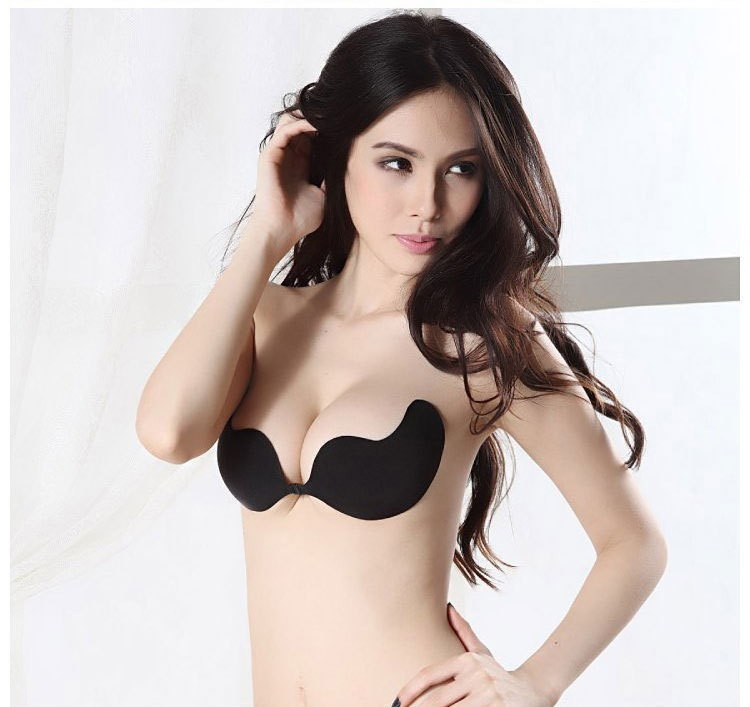 7d321ef406 Wedding Dress Swimming Sexy Invisible Self-Adhesive Size A b c d Cup Bra  Silicone Breast Enhancer  9779Sofia