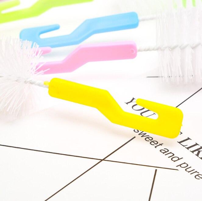 НОВАЯ щетка для детской бутылочки очиститель Поильник щетка для мытья стекол чайник корзина для белья Щетка с губкой