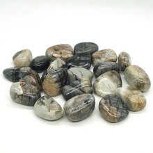 Natural Picasso Jasper Tumbled Stone Gemstone Rock Mineral Crystal Healing Chakra Meditation Feng Shui Decor Collection