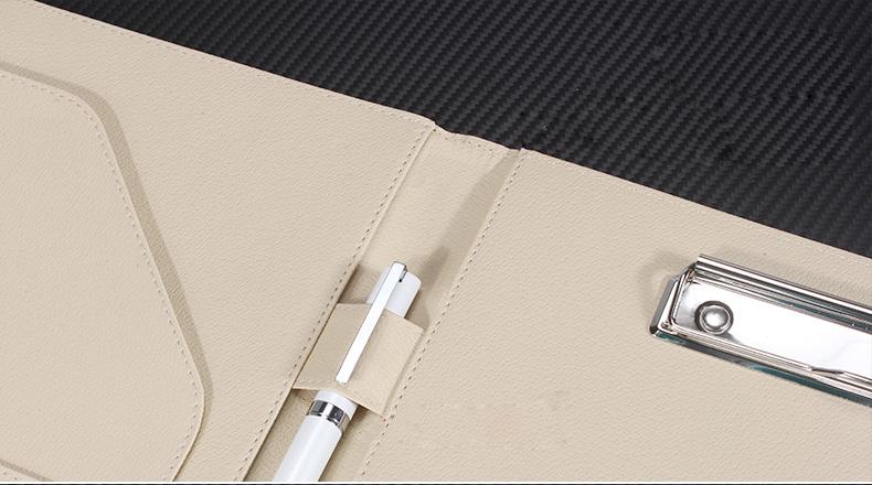 PU leather folder (2)