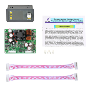 Image 4 - A CRISTALLI LIQUIDI Digital di Controllo Programmabile Buck Boost Modulo di Alimentazione A Tensione Costante di Corrente DC 0 50.00 v/0 20.00A uscita DPS5020