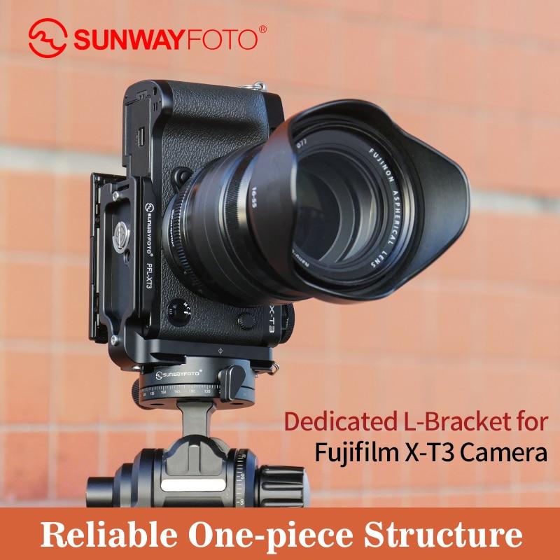 SUNWAYFOTO PFL-XT3 statīva galvas ātrās atlaišanas plāksne Fuji - Kamera un fotoattēls
