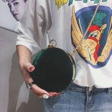 ماتي كرة مستديرة حقائب النساء العلامة التجارية الشهيرة ريترو جلدية علبة مخمليّة الملمس حقيبة موضة سلسلة حقائب الكتف براثن