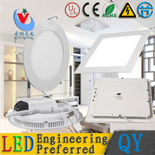 50pc/lot DHL FEDEX 25w 18W 15W 12W 9W 6W 4W 3W 2835 chip LED Panel light recessed led ceiling down bedroom