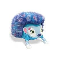 Intelligent tumbling hedgehog children toys creative novelty intelligent fingertips electronic pet plush birthday gifts
